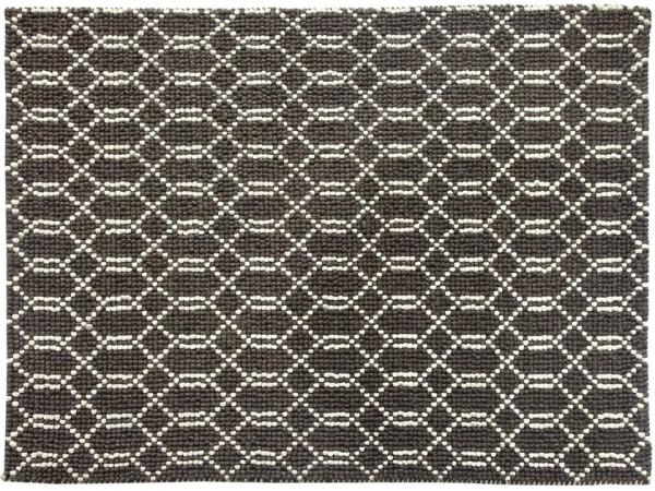 Loop dot Lattice - Ivory Grey