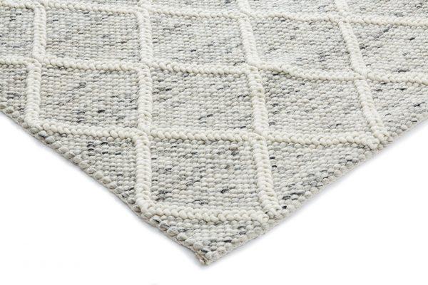 Luxury Lattice - Ivory/Grey-White
